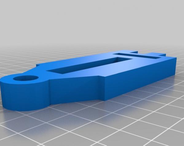 DSLR单反相机小导轨车  3D模型  图1