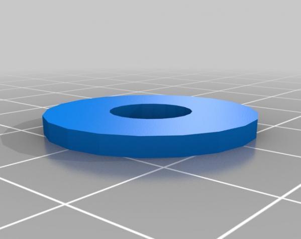 DSLR单反相机小导轨车  3D模型  图3