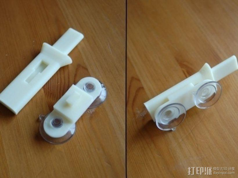 可折叠iPhone摄像功能支架 3D模型  图2