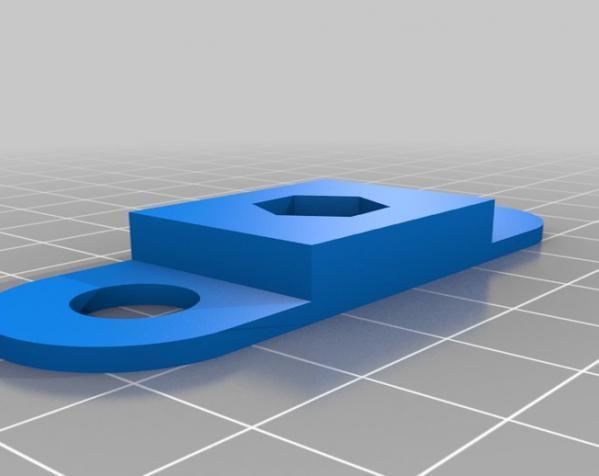 iPhone 4 三角架 3D模型  图1