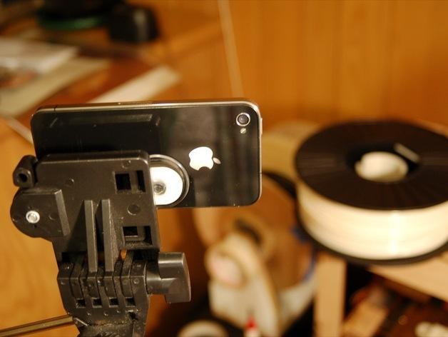 iPhone 4 三角架 3D模型  图3