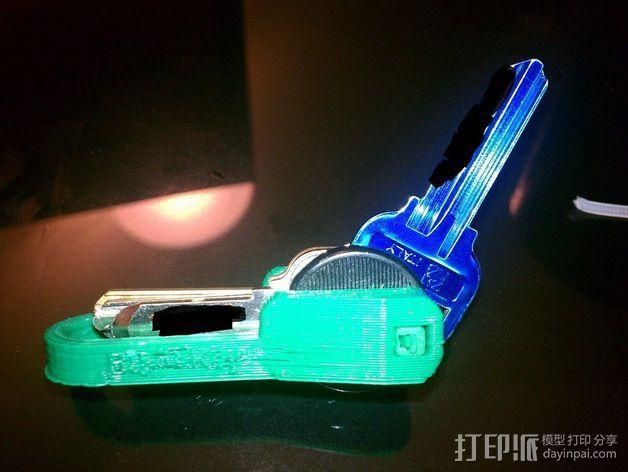 个性化钥匙扣 3D模型  图4