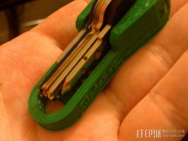 个性化钥匙扣 3D模型  图3