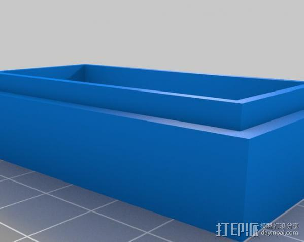 Reddit赞成/否决按钮外壳 3D模型  图6