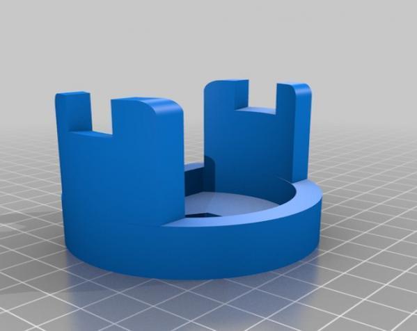 PS3 Eye摄像机三脚架 3D模型  图3