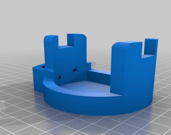 PS3 Eye摄像机三脚架 3D模型  图4
