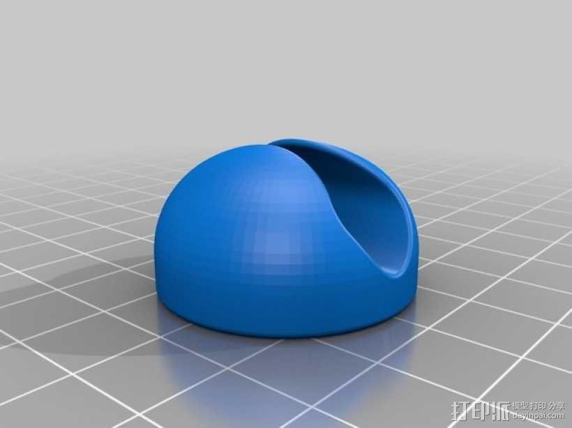 电线夹 3D模型  图2