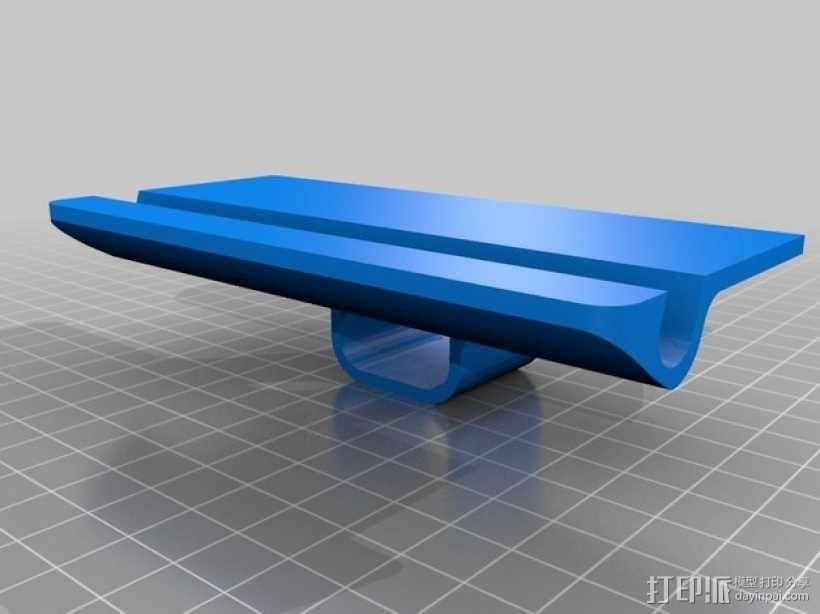 壁装电源插座支架 3D模型  图6