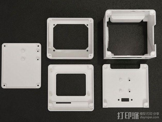 迷你经典苹果Mac电脑 3D模型  图2