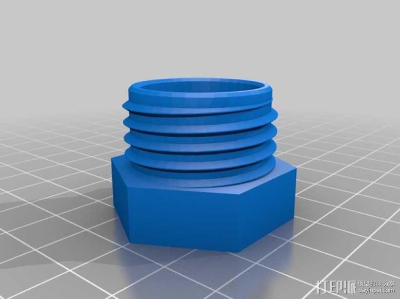 GoPro相机折叠支架 3D模型  图5