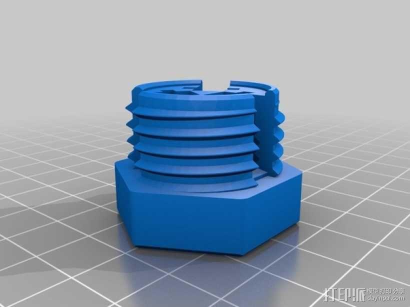GoPro相机折叠支架 3D模型  图7