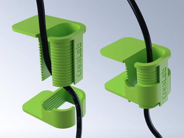 电缆夹 3D模型  图6