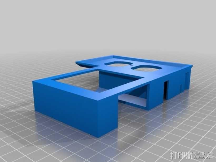 壁挂式智能手机充电底座 3D模型  图2