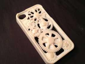 iPhone齿轮手机套 3D模型