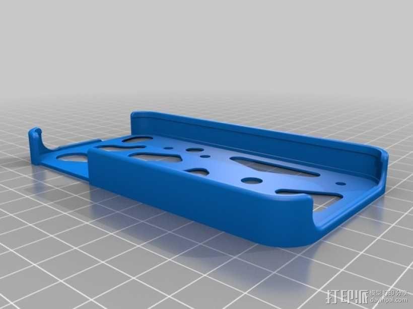 iPhone齿轮手机套 3D模型  图6