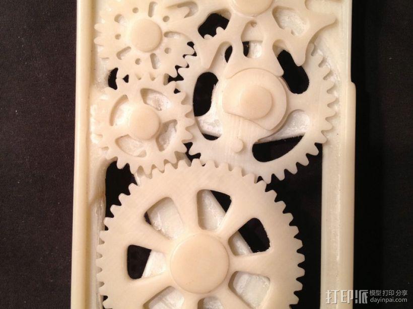 iPhone齿轮手机套 3D模型  图4