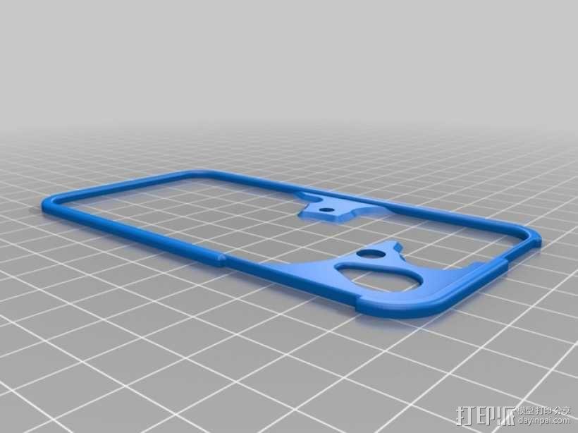 iPhone齿轮手机套 3D模型  图7