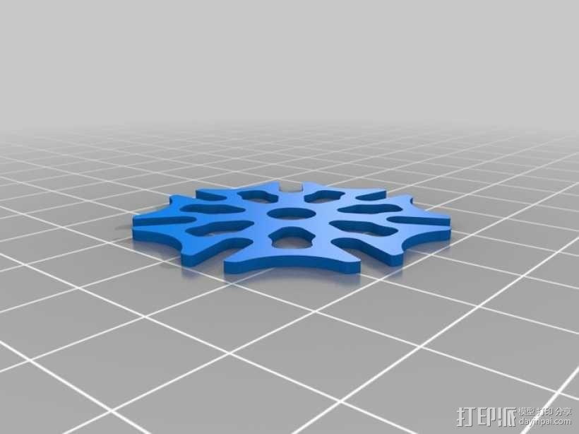 iPhone齿轮手机套 3D模型  图8