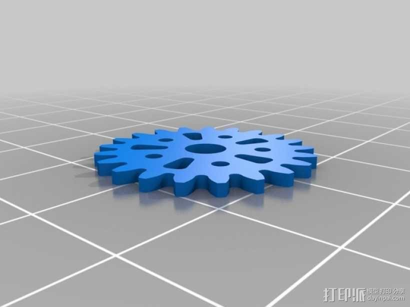iPhone齿轮手机套 3D模型  图11