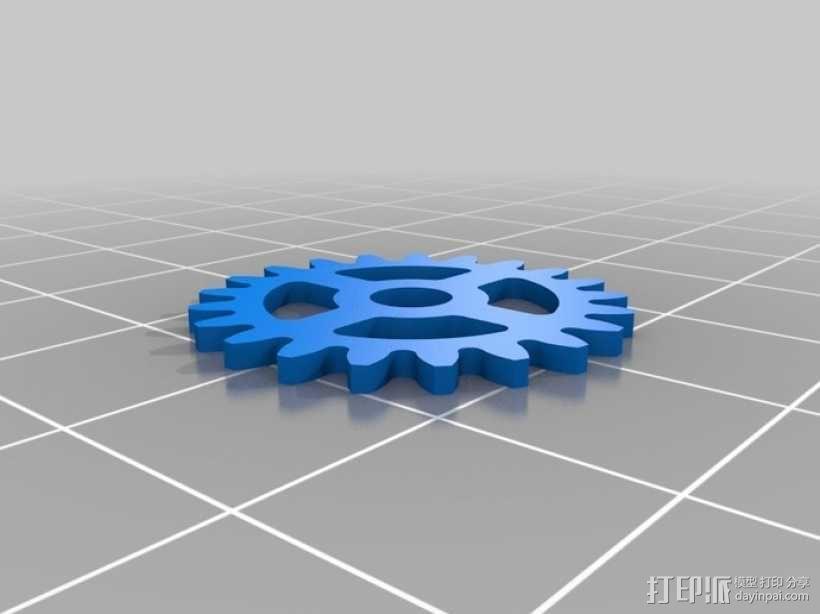 iPhone齿轮手机套 3D模型  图12