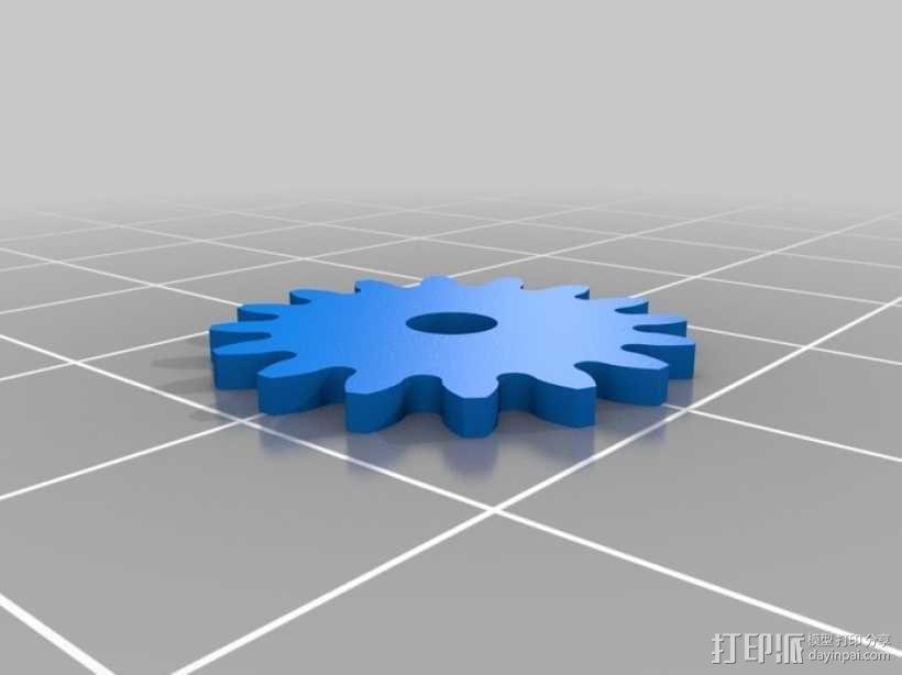 iPhone齿轮手机套 3D模型  图14