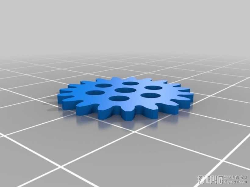 iPhone齿轮手机套 3D模型  图13