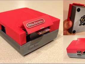 树莓派游戏机 3D模型