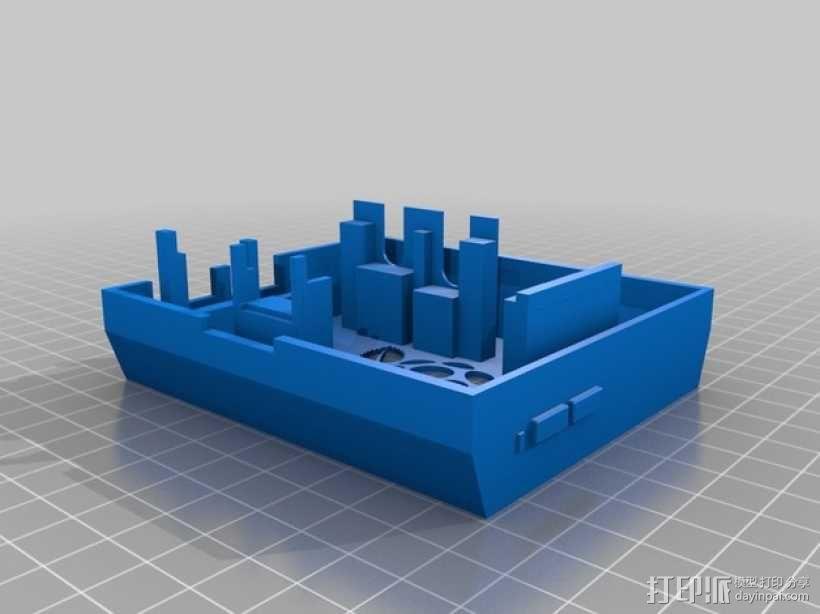树莓派游戏机 3D模型  图5