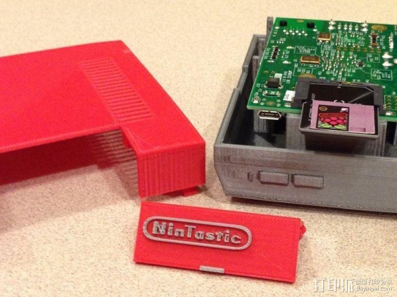 树莓派游戏机 3D模型  图3