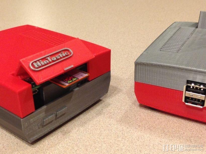 树莓派游戏机 3D模型  图12