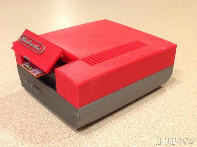 树莓派游戏机 3D模型  图16