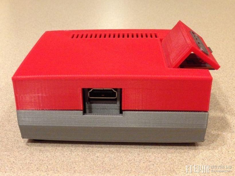 树莓派游戏机 3D模型  图17