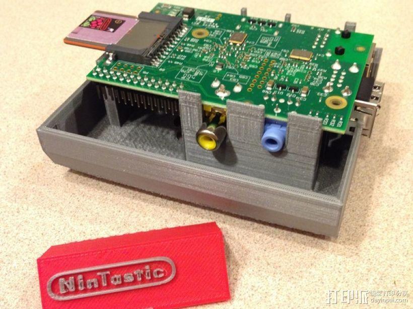 树莓派游戏机 3D模型  图25