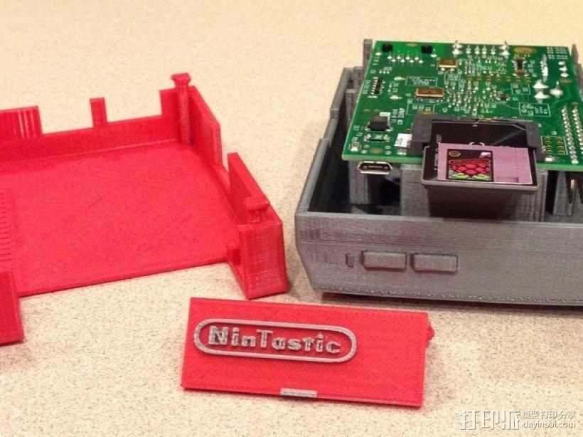 树莓派游戏机 3D模型  图22