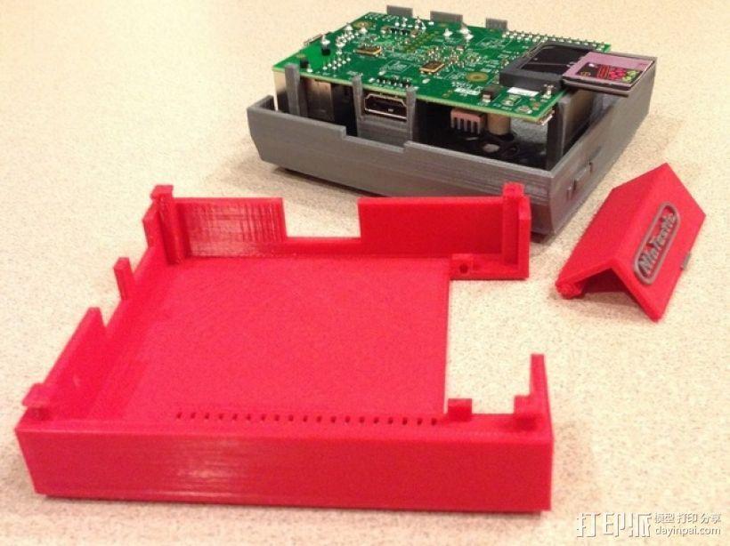 树莓派游戏机 3D模型  图23
