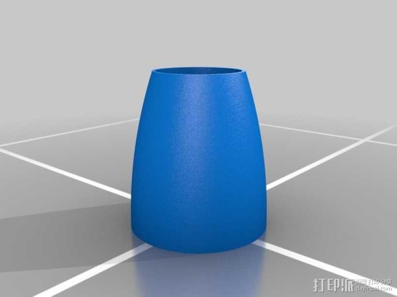 火箭形Go Pro相机外壳 3D模型  图6