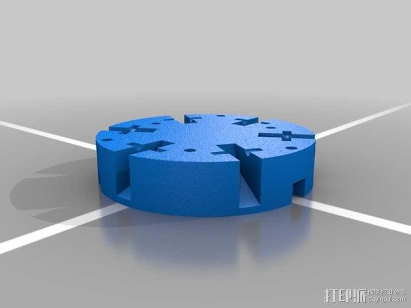 火箭形Go Pro相机外壳 3D模型  图9