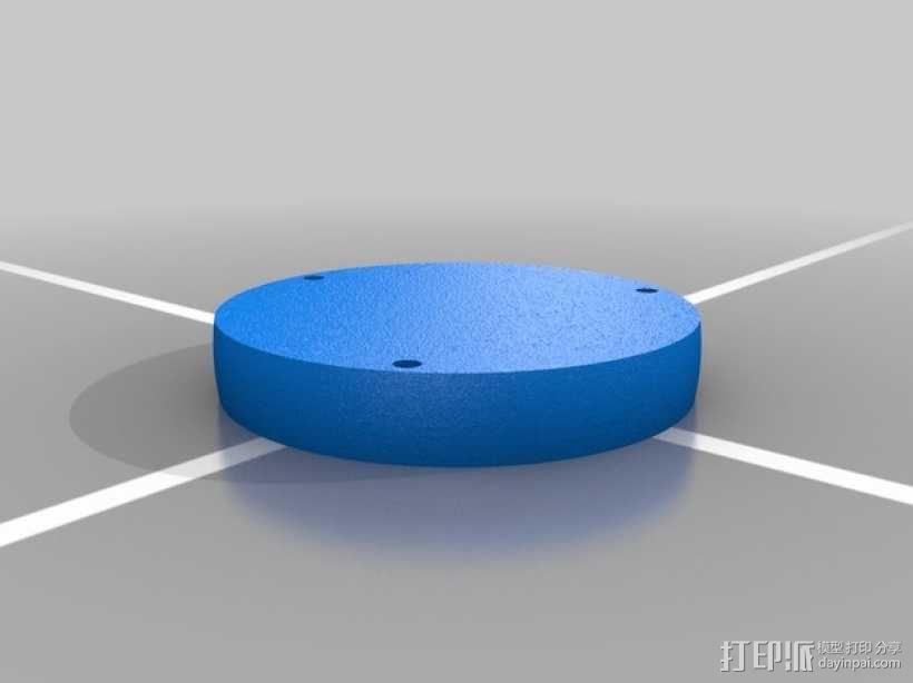火箭形Go Pro相机外壳 3D模型  图11