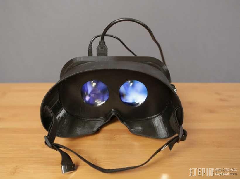 可穿戴视频眼镜 3D模型  图1
