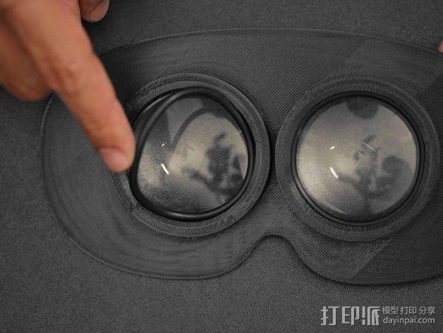 可穿戴视频眼镜 3D模型  图7