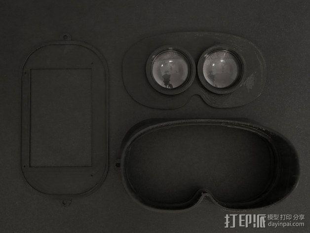 可穿戴视频眼镜 3D模型  图8