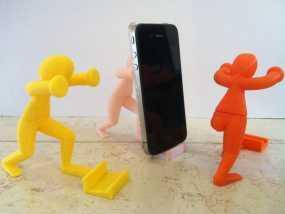 人力手机架 3D模型