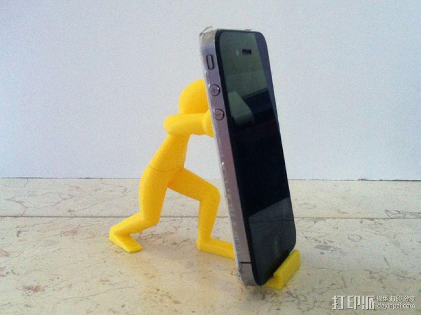 人力手机架 3D模型  图5