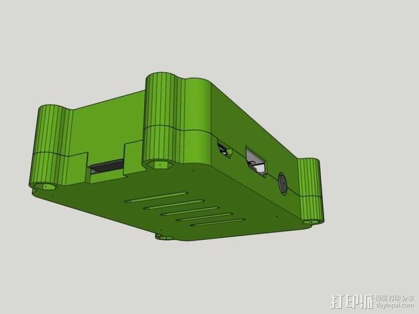 树莓派B+盒子 3D模型  图5