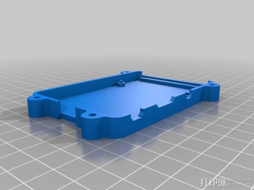 树莓派B+盒子 3D模型  图7