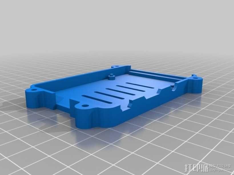 树莓派B+盒子 3D模型  图8