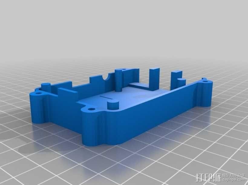 树莓派B+盒子 3D模型  图10