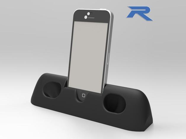 iPhone 5手机架 3D模型  图1