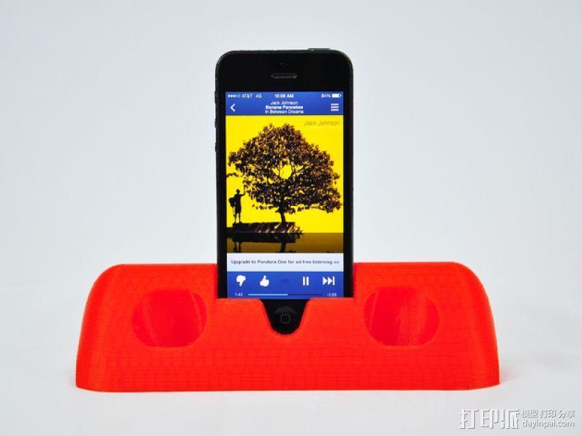 iPhone 5手机架 3D模型  图3