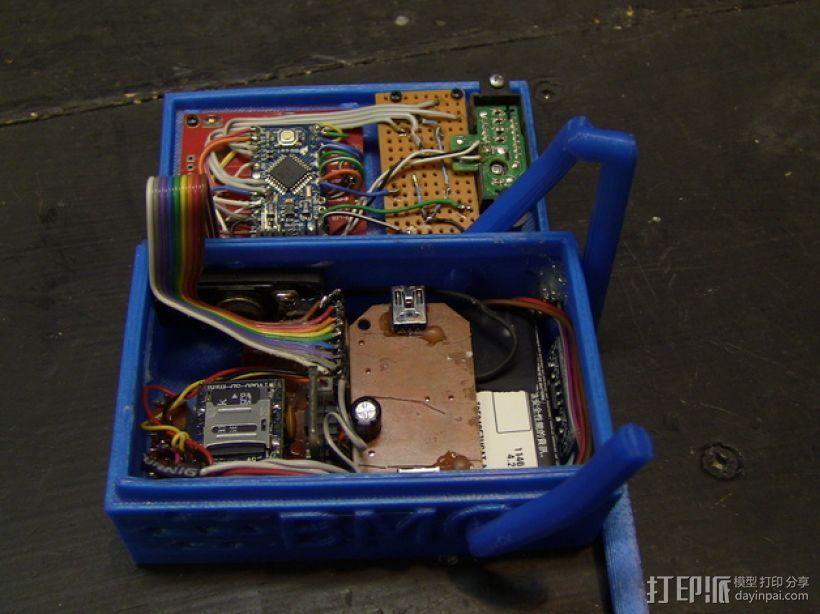 Arduino迷你BMO机器人 3D模型  图13